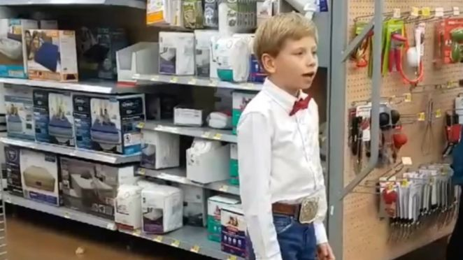 Mason Ramsey Is Walmart Yodeling Kid and His Performance Goes Viral.