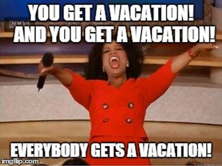 Funny Vacation Meme Boss