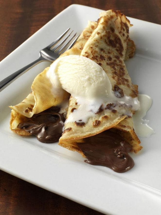 10 Best Pancake Recipes - Nutella Pancakes.