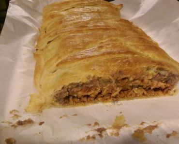 Delicious Taco Bread Recipe Made with Pillsbury Crescent Dough.