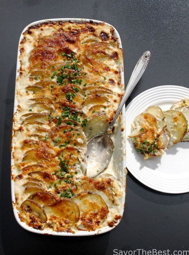 29 Best Potato Recipes - Rosemary Potato Gratin.