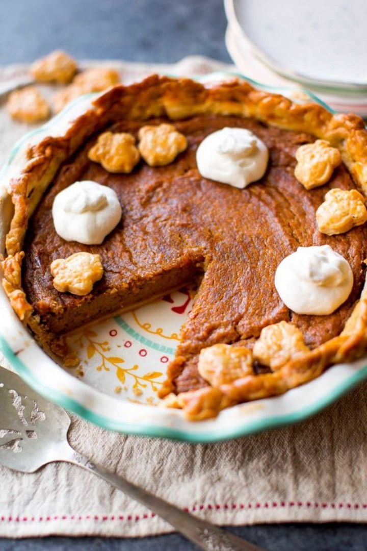 29 Best Potato Recipes - Brown Sugar Sweet Potato Pie.