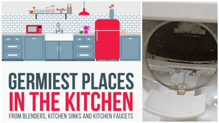 Top 10 Items and Places in Your Kitchen with the Most Germs
