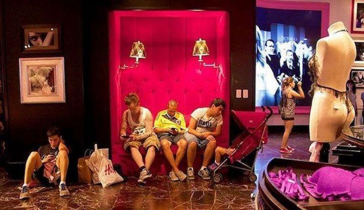 Miserable Men - Is this Victoria's Secret or a strip club?