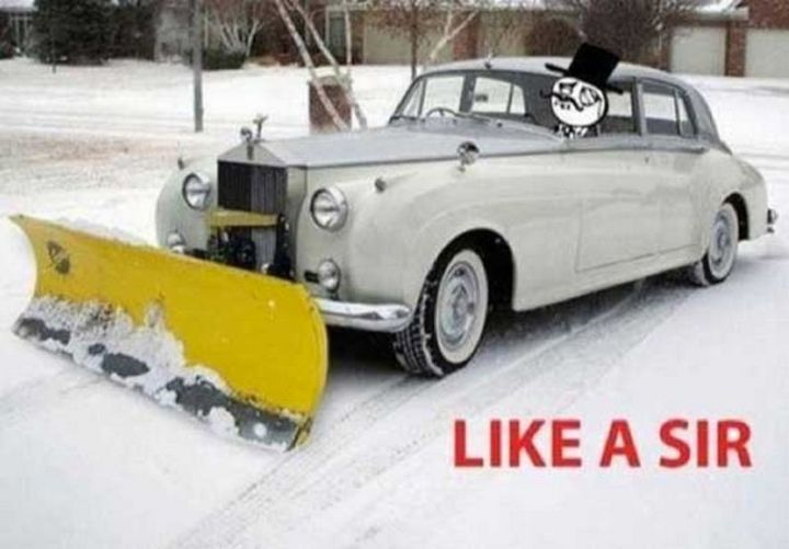 "55 Funny Winter Memes - ""Like a sir."""