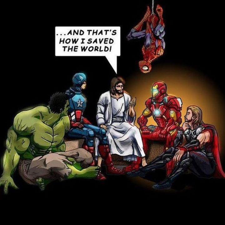"""65 Christian Jesus Memes - """"...And that's how I saved the world!"""""""