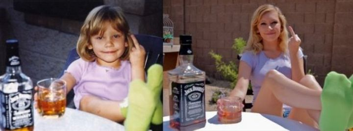 """35 Then and now pictures - """"15 years later…"""""""