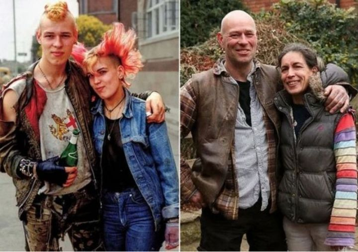 """35 Then and now pictures - """"40 years folks…40 years. It happens to all of us sooner or later."""""""