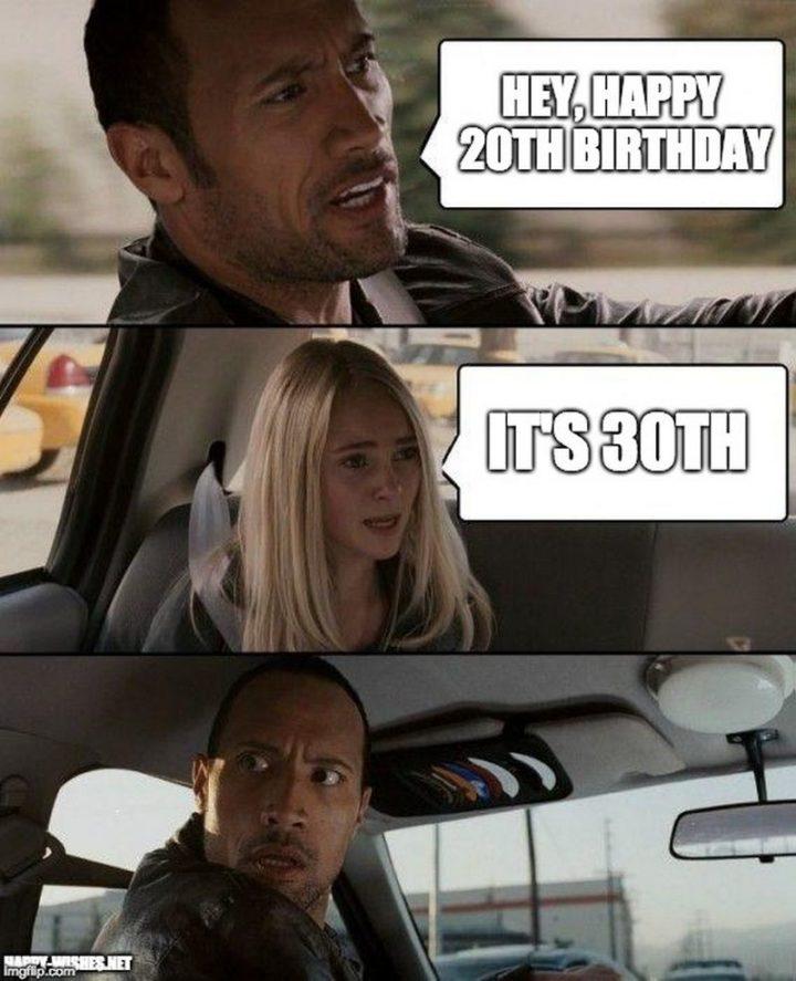 Happy 30th Birthday Funny Meme : happy, birthday, funny, Funny, Birthday, Memes, People, Still, Heart