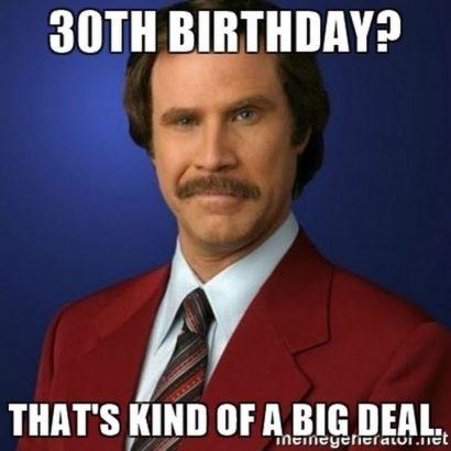 Happy 30th Birthday Meme