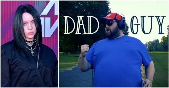 'Dad Guy' Billie Eilish Parody Celebrates Fatherhood in the Most Hilarious Way.