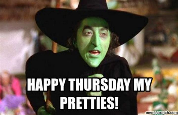 """Happy Thursday my pretties!"""