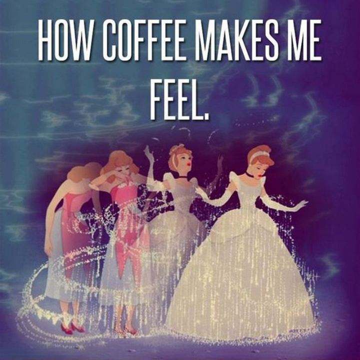 """How coffee makes me feel."""