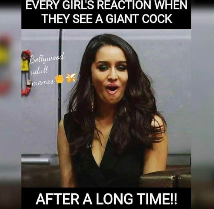 """""""Every girls' reaction when they see a giant [censored] after a long time!!"""""""
