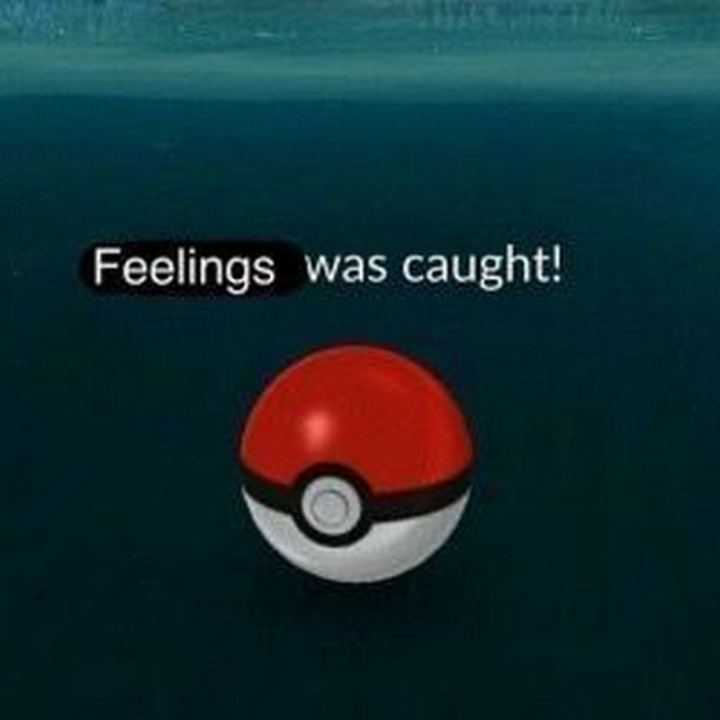 """47 Love and Affection Memes - """"Feelings was caught."""""""