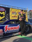 The Las Vegas win was Jason Line's second of the season and 39th of his Pro Stock career