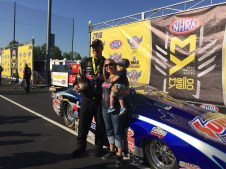 With KB Racing's Jean and Ryker Radford
