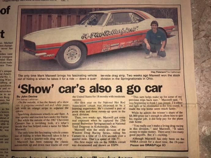 camaro article 1989