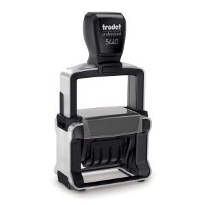 Trodat 5440 Self-Inking Professional Date Stamp