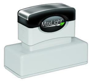 MaxLight PW-185 Pre-Inked Stamp