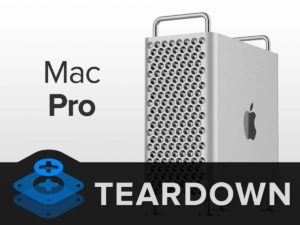 A few days after the release of the new Apple Mac Pro. The iFixit team has torn it to pieces in order to inspect the smallest details