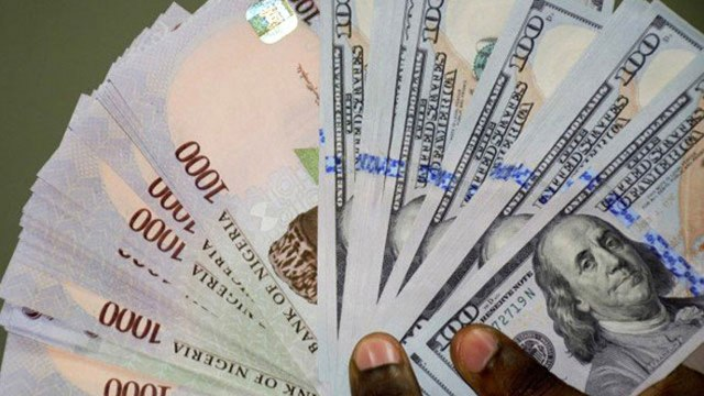 The Nigerian currency (naira) appreciated against the dollar by exchanging at N383 to the dollar, stronger than N385 posted at the last trading session.