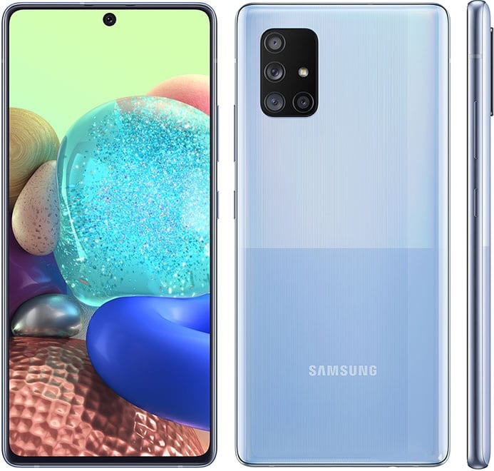 Samsung Galaxy A Quantum Key Specs and Features 6.7-inch, Super AMOLED Display, 1080 x 2400 Pixels (393PPI) Android 10.0; One UI 2