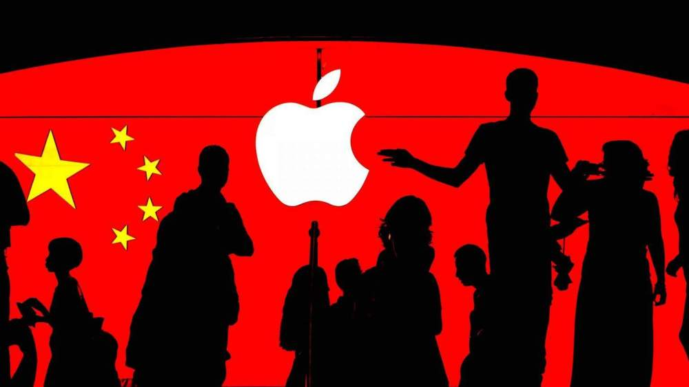 APPLE ANNOUNCES ITS CONTRIBUTION TO CHINA AS TENSION GROWS