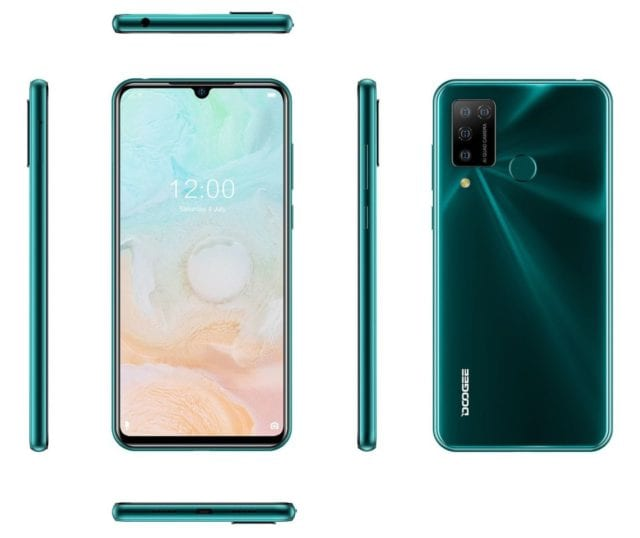 Doogee N20 Pro Full Phone Specification, Features, and Price.  The new phone parades some dandy features that include quad rear cameras setup