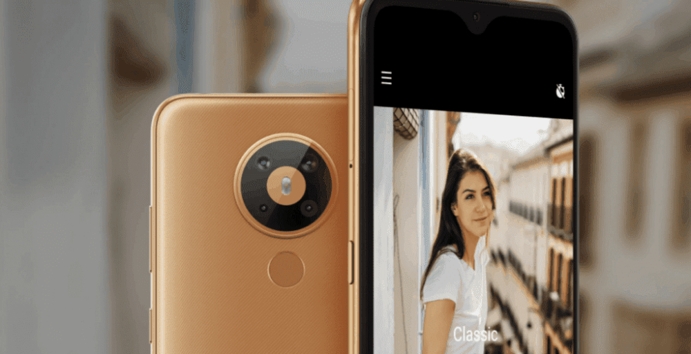 NOKIA 5.3 LANDING PAGE SHOWS ON THE NOKIA INDIA WEBSITE
