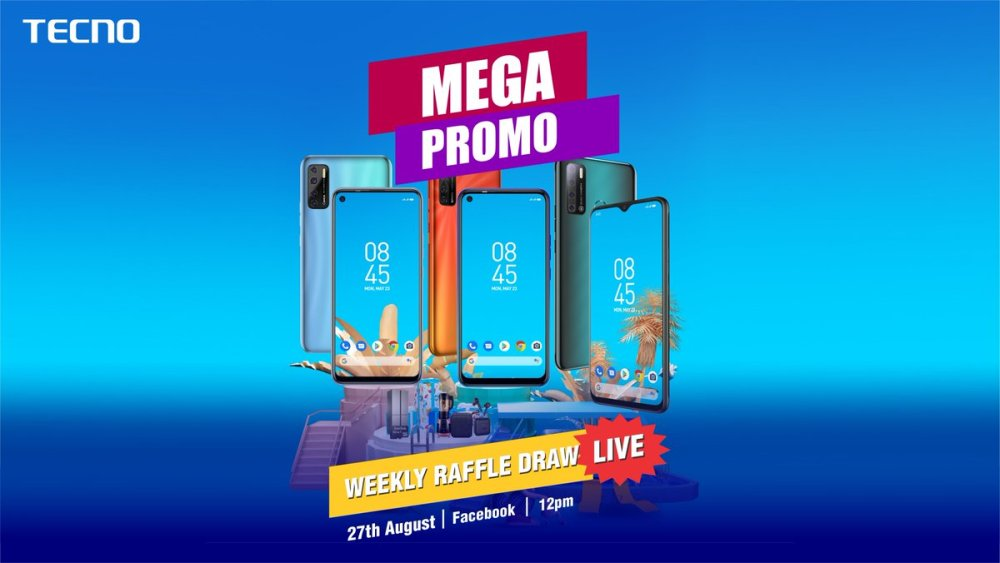 Thousands of gifts up for grab in TECNO Mega Promo