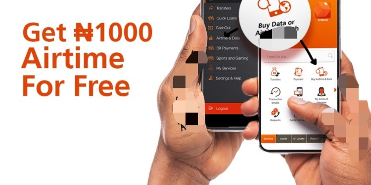 How to Get Gtbank Free 1000 Airtime – Get Free N1000 On Gtbank.  We move and as we move, we hope to move to the next one GTbank