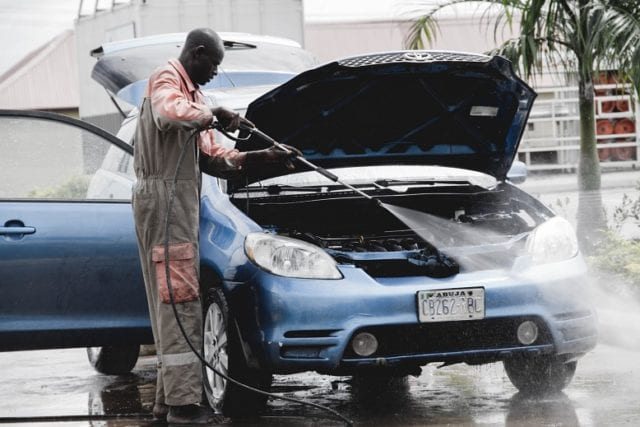 See Why You Should Not Wash Your Car With Water.  It was reported that 72% of people prefer taking their vehicle to a professional car wash