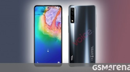 First TCL 20 5G specs and images leak ahead of early 2021 announcement
