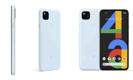 Google Pixel 4a gets a new Barely Blue colorway