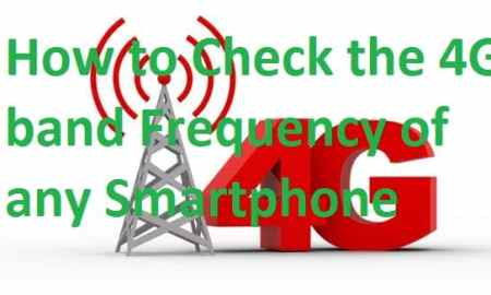 How to Check the 4G band Frequency of any Smartphone without an App
