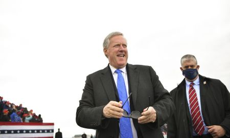Mark Meadows and 4 other White House staffers test positive for Covid-19