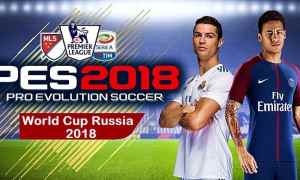 PES 18)Patch World Cup Russia Mod