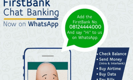 First Bank Whatsapp Banking