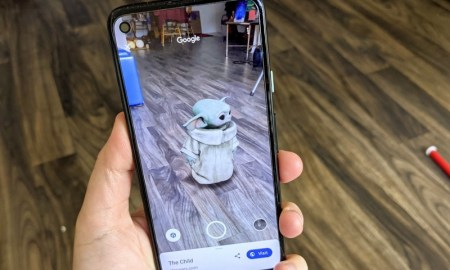 How to bring The Child into your home with Google AR