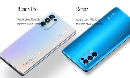 Oppo Reno 5 5G Series launched with 65W charging and 90Hz OLED display