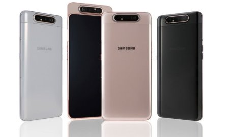 Galaxy A82 could be Samsung's first 5G phone with a rotating pop-up camera