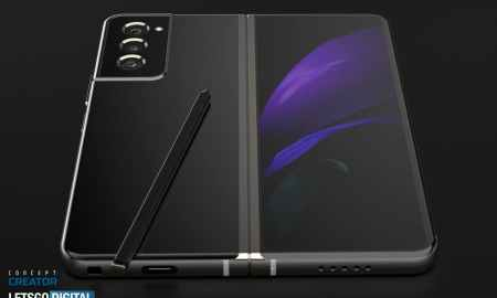 Samsung Galaxy Z Fold 3 renders with S Pen have appeared
