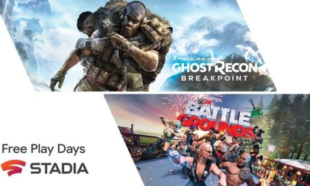 Stadia Pro subscribers get Ghost Recon: Breakpoint and WWE 2K Battlegrounds free this weekend