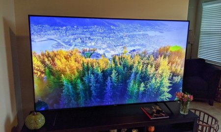 Stream some quality content with the 85-inch Hisense H65 4K TV for $1,000
