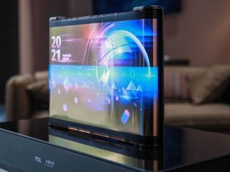 TCL shows off rollable display tech with a cool scroll-like tablet concept