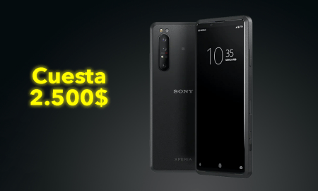 This Sony Xperia Pro costs $ 2,500 and comes with a Snapdragon 865 and Android 10