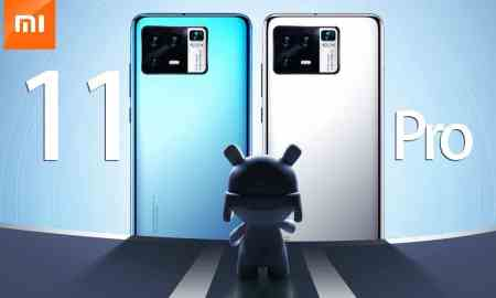 Xiaomi Mi 11 Pro appears with a completely new camera in two colors