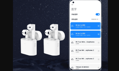 Xiaomi Mi 11 can connect to two Bluetooth headsets simultaneously -