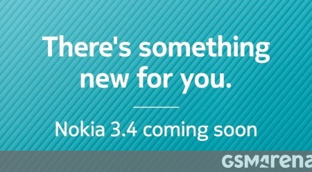 "Nokia 3.4 is ""coming soon"" to India"